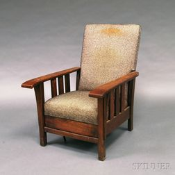 Mission Oak Morris Chair