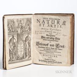 Schott, Gaspar (1608-1666) and Athanasius Kircher (1602-1680) Joco-Seriorum Naturae et Artis, sive Magiae Naturalis Centuriae Tres.