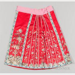 Han-style Pleated Apron Skirt, Baizhequn