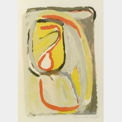 Bram van Velde (Dutch, 1895-1981)  Matin