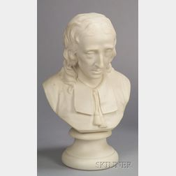 Wedgwood Carrara Bust of Milton