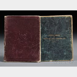 Beresford, Sir John Poo, (1766-1844) Two Manuscript Notebooks, c. 1895.