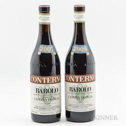 Giacomo Conterno Barolo Cascina Francia, 2 bottles