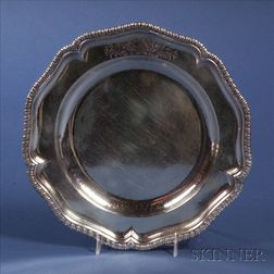 George III Silver Charger