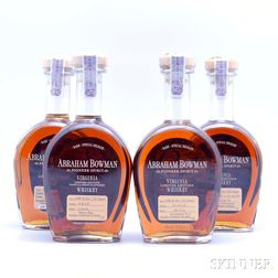 Mixed Abraham Bowman, 4 750ml bottles