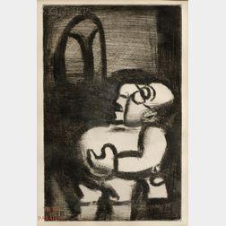Georges Rouault (French, 1871-1958)      Pédagogue