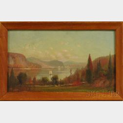 M. DeForest Bolmer (American, 1854-1910)      Hudson River View