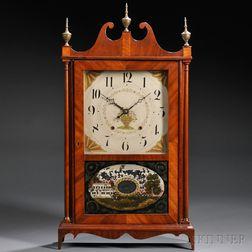 Seth Thomas Pillar and Scroll Shelf Clock