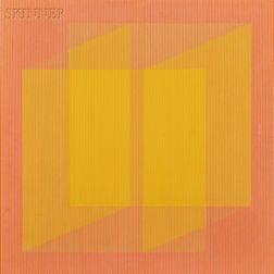 Julian Stanczak (American, b. 1928)      Folding Secrets