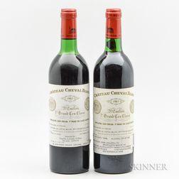 Chateau Cheval Blanc 1983, 2 bottles