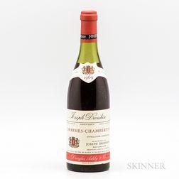 Joseph Drouhin Charmes Chambertin 1969, 1 bottle