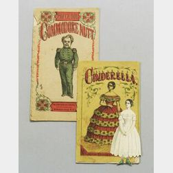 Two Uncut McLoughlin Paper Dolls