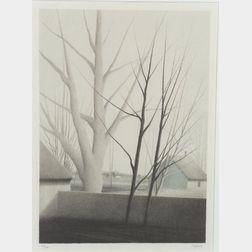 Robert Kipniss (American, b. 1931)    Just Before Spring