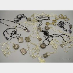 Fifteen Pendant Necklaces