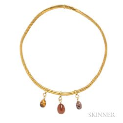 Antique 18kt Gold Necklace