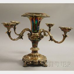 Silver-Plated Epergne