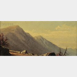 Alfred Thompson Bricher (American, 1837-1908)      Mountain View