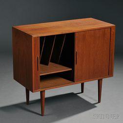 Scandinavian Design Record Cabinet