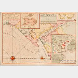 Holy Land, Egypt, Two Maps.