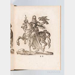 Amman, Jost (1539-1591) and Johann Feyerabend (1550-1599) Kunstbuchlin, Darinnen neben Furbildung vieler Geistlicher vnnd Weltlicher Ho