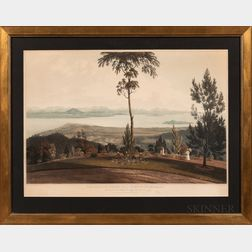 William Daniell (British, 1769-1837), After Captain Robert Smith (British, 1787-1873) View from Strawberry Hill, Prince of Wales' Isla