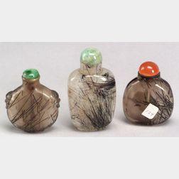 Three Snuff Bottles