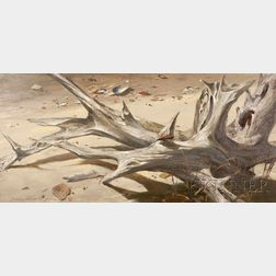 James Wingate Parr (American, 1923-1969)      Driftwood