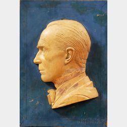 Paul Howard Manship (American, 1885-1966)      Portrait of Gifford Beal.