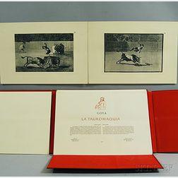 After Francisco de Goya (Spanish, 1746-1828)      Facsimile edition of La Tauromaquia