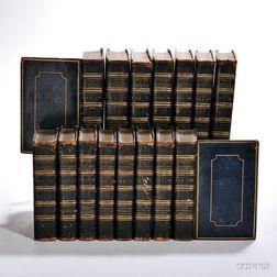 Decorative Bindings, Shakespeare, Fifteen Volumes.