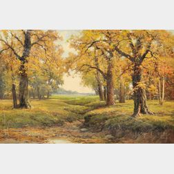 Robert William Wood (American, 1889-1979)      Autumn Vista