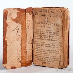 Bailey, John (1644-1697) Man's Chief End to Glorifie God, or Some Brief Sermon-Notes on I Cor. 10 31.