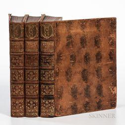 Montesquieu, Charles-Louis de Secondat (1689-1755) Oeuvres de Monsieur de Montesquieu.