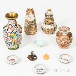Ten Asian Decorative Items