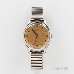 "Omega Stainless Steel ""Jumbo"" Reference 2506-5 Wristwatch"