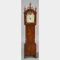 Federal Mahogany Dwarf Clock
