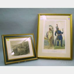 Two Framed Prints of Native Americans