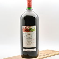 Chateau Mouton Rothschild 1989, 1 6 liter bottle