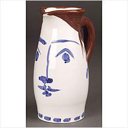Pablo Picasso (Spanish, 1881-1973)  Face Tankard