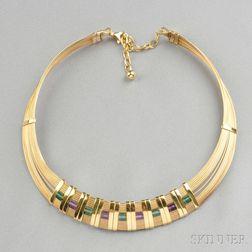 14kt Gold Wire Collar