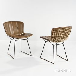 Two Harry Bertoia Side Chairs