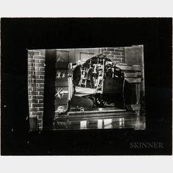 Walker Evans (American, 1903-1975)       Street Scene, Brooklyn