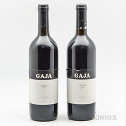 Gaja Sperss 1997, 2 bottles