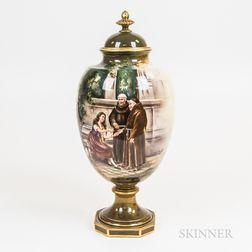 Royal Bonn Covered Urn