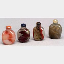 Four Snuff Bottles
