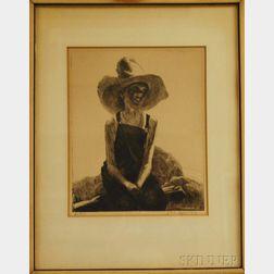 John Edward Costigan (American, 1888-1972)      Jackie