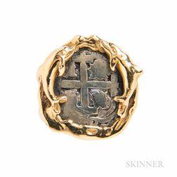Atocha   Shipwreck Silver Coin Ring