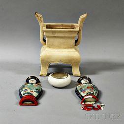Three Ceramic Items