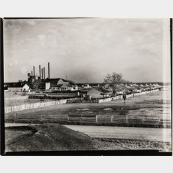 Walker Evans (American, 1903-1975)       Factory and Houses, Louisiana
