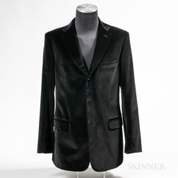 Valentino Velvet Men's Sports Jacket